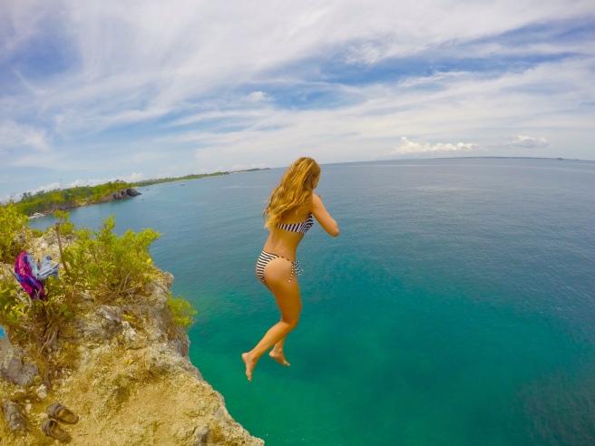 Malapascua Cliff Jump